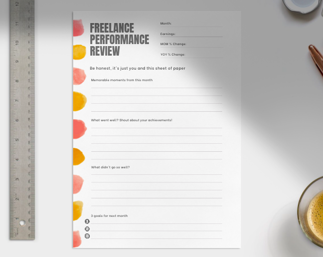 freelance performance review